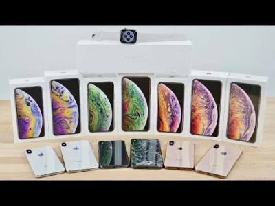 Stock Apple iPhone Xs €430 EUR iPhone Xs Max iPhone X 350 EUR PayPal/Bonifico